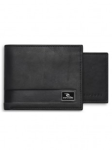 RIP CURL peňaženka SECTION RFID 2 IN 1 BLACK