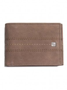 RIP CURL peňaženka STITCH ICON RFID 2 IN1 BROWN