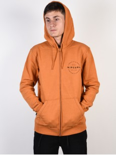 RIP CURL mikina AUTHENTIC BURNT ORANGE