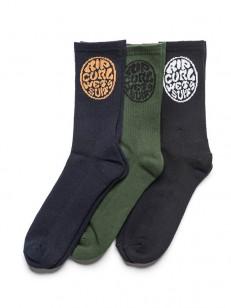 RIP CURL ponožky WETTIES CREW MULTICO