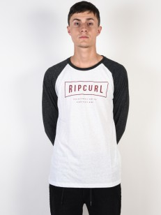 RIP CURL triko STRETCHED OUT BLACK