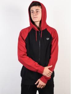 FOX mikina LEGACY Black/Red