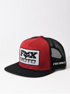 FOX kšiltovka CHARGER Black/Red