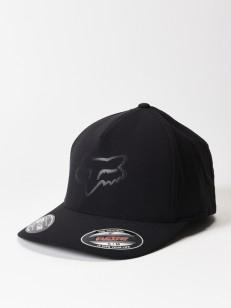 FOX kšiltovka REFRACT FLEXFIT Black