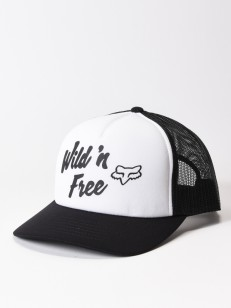 FOX kšiltovka DESERT White/Black