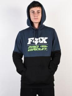 FOX mikina PRO CIRCUIT Navy/Black