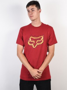FOX triko FLAME HEAD Cardinal