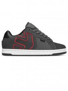 ETNIES topánky FADER 2 DARK GREY/BLACK/ RED