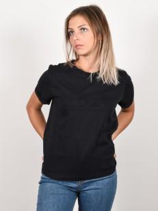ROXY tričko COASTAL HOLIDAYS TRUE BLACK