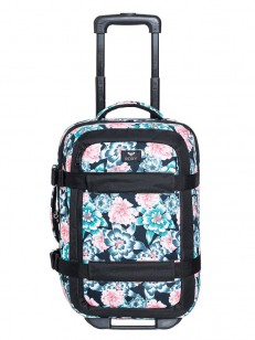 ROXY taška WHEELIE ANTHRACITE S CRYSTAL FLOWER