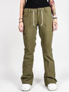 DC kalhoty VIVA BIO WASH OLIVE NIGHT