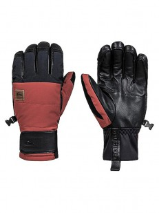 QUIKSILVER rukavice SQUAD BARN RED