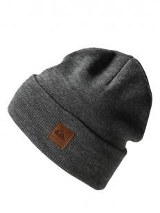QUIKSILVER čiapka BRIG YOU BLACK HEATHER