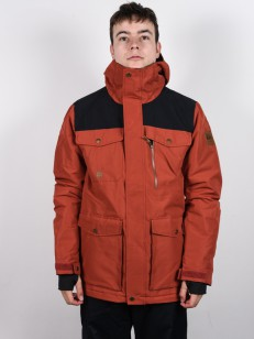 QUIKSILVER bunda RAFT BARN RED