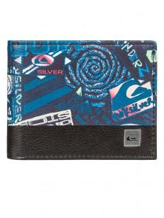 QUIKSILVER peněženka FRESHNESS TRUE BLACK