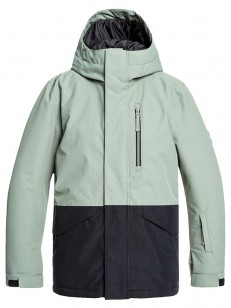 QUIKSILVER bunda MISSION AGAVE GREEN