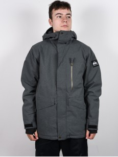 QUIKSILVER bunda MISSION BLACK HEATHER