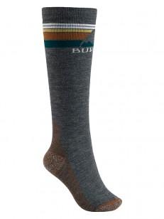 BURTON ponožky EMBLEM TRUE BLACK