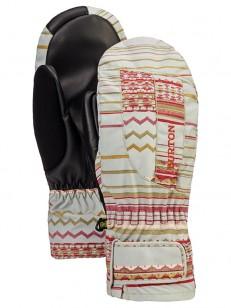 BURTON rukavice PROFILE UNDMTT AQUA GRAY REVL PRIN