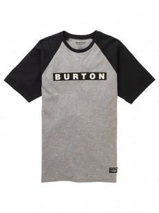 BURTON triko VAULT GRAY HEATHER