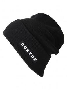 BURTON čiapka ALL 80 TRUE BLACK