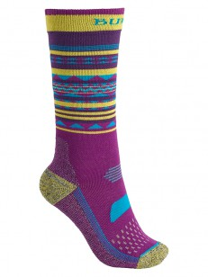 BURTON ponožky PERFORMANCE LTW FUCHSIA