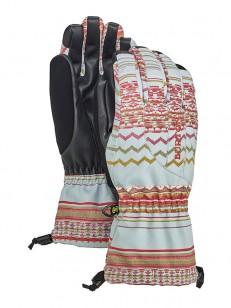 BURTON rukavice PROFILE AQUA GRAY REVL PRINT