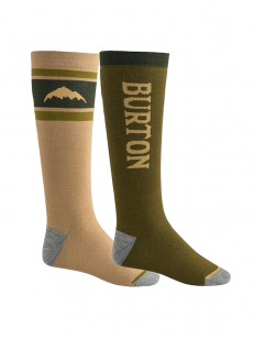 BURTON ponožky WEEKEND MDWT 2 PACK KEEF