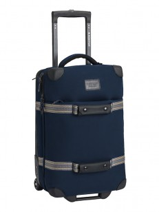 BURTON taška WHEELIE FLIGHT DECK DRESS BLUE WAXED