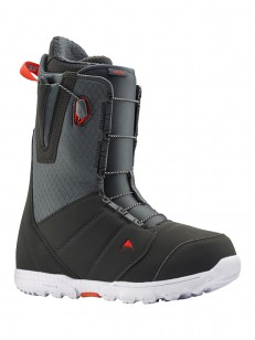 BURTON topánky MOTO GRAY/RED