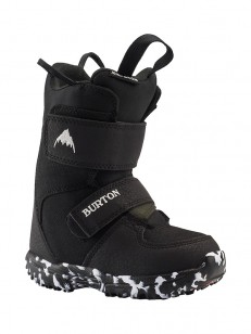 BURTON topánky MINI GROM BLACK