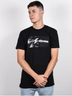 ETNIES tričko SEQUOIA BLACK