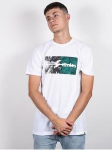 ETNIES tričko SEQUOIA WHITE