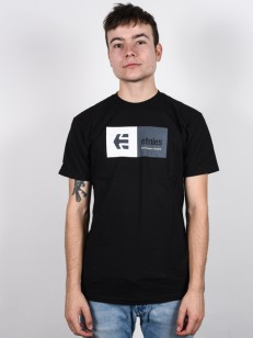 ETNIES tričko EBLOCK BLACK