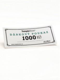 TEMPLESTORE dárková poukázka 1000,- Kč  WHT